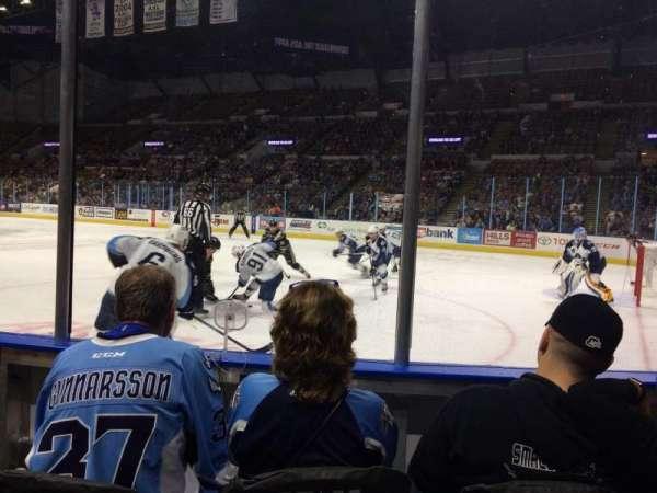 UW-Milwaukee Panther Arena, secção: 104, fila: 2, lugar: 5