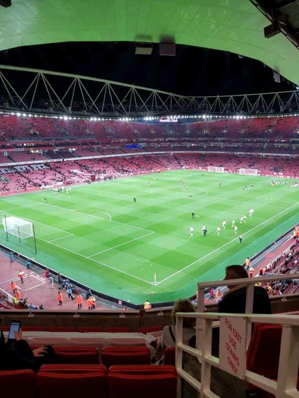 Emirates Stadium, secção: 119, fila: 8, lugar: 779