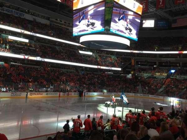 Capital One Arena, secção: 120, fila: O, lugar: 5