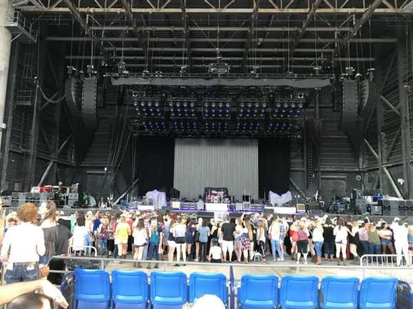 MidFlorida Credit Union Amphitheatre, secção: Box 11, lugar: 7 and 8