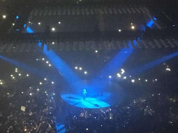 The O2 Arena, secção: 420, fila: L, lugar: 925
