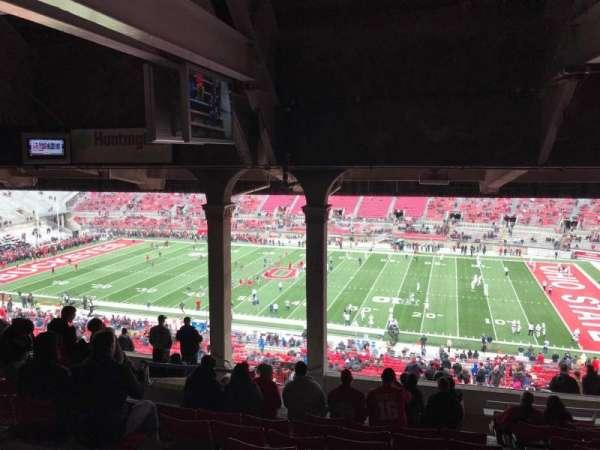 Ohio Stadium, secção: 16B, fila: 15, lugar: 21