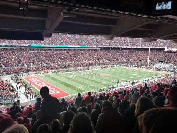 Ohio Stadium, secção: 28B, fila: 10, lugar: 19