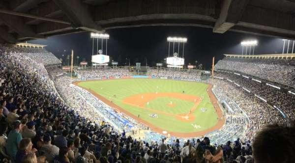 Dodger Stadium, secção: 7RS, fila: U, lugar: 1
