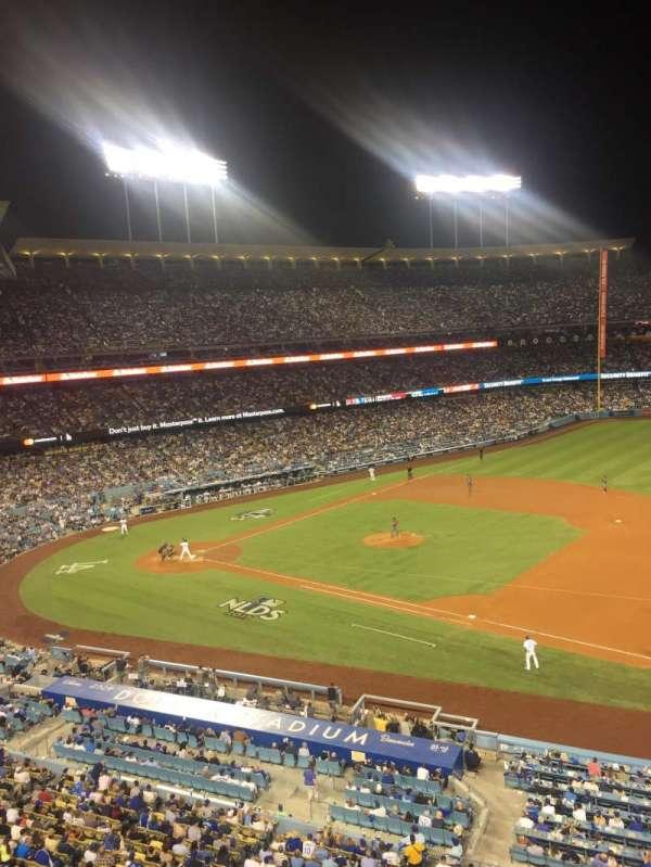 Dodger Stadium, secção: Infield Reserve VIP 28, fila: A, lugar: 2