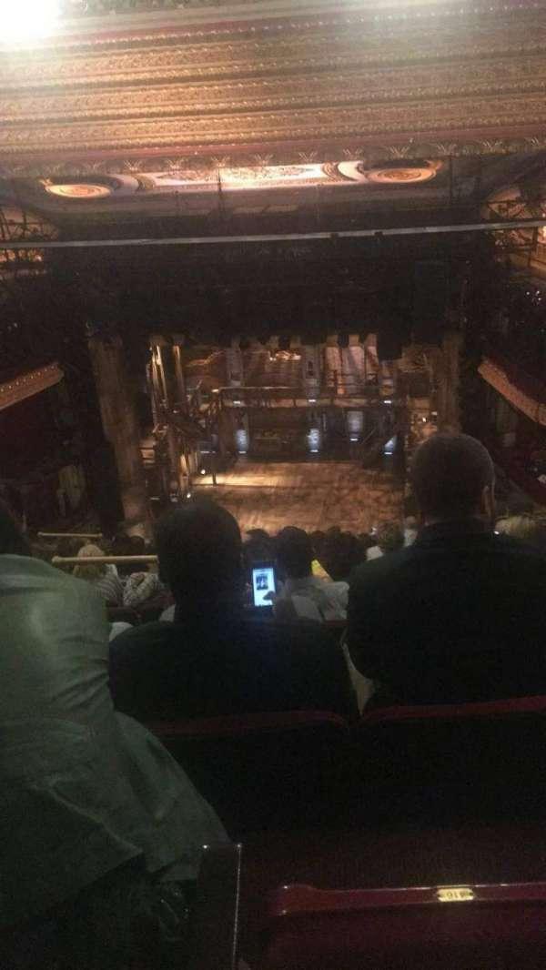 CIBC Theatre, secção: Balcony RC, fila: M, lugar: 416
