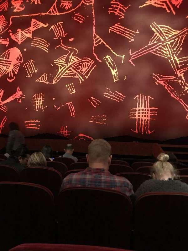 Minskoff Theatre, secção: Orchestra C, fila: F, lugar: 117