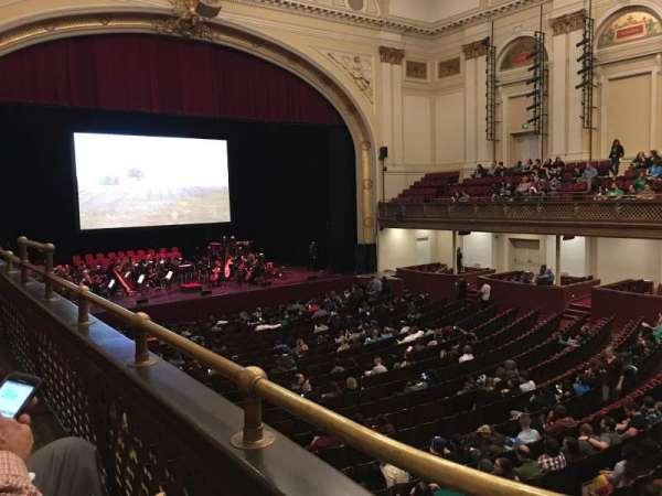 Modell Performing Arts Center, secção: Left Tier, fila: A, lugar: 41