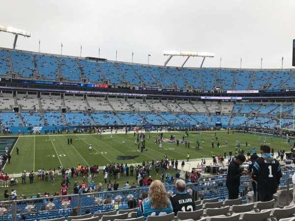 Bank of America Stadium, secção: 319, fila: 8, lugar: 8