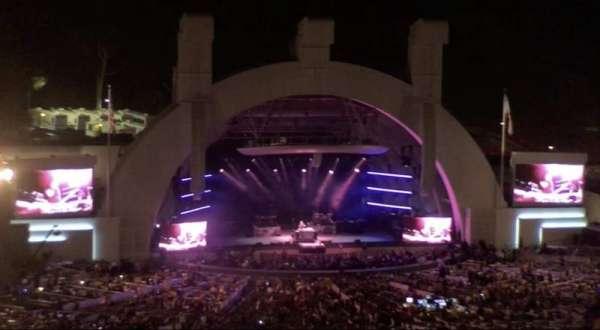 Hollywood Bowl, secção: N3, fila: 21, lugar: 11