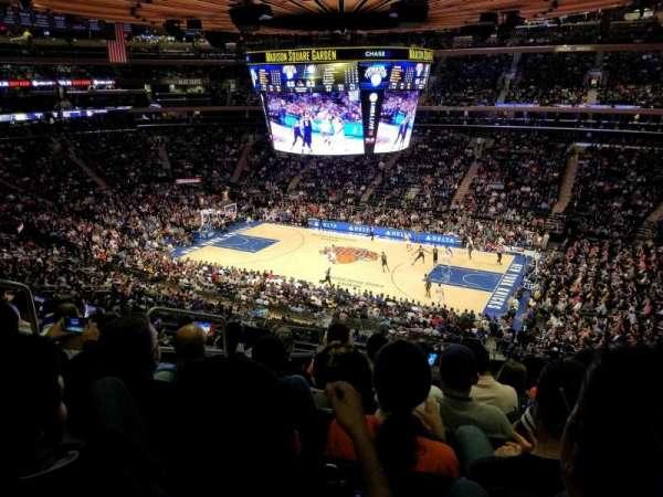 Madison Square Garden, secção: 226, fila: 8, lugar: 3