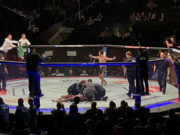 Madison Square Garden, secção: 109, fila: 10, lugar: 1