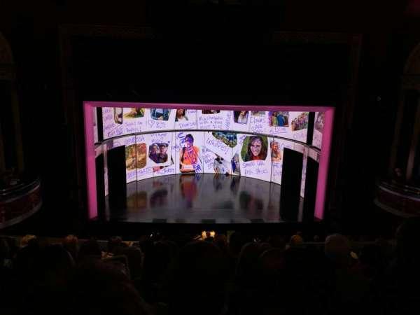 National Theatre (DC), secção: Mezz, fila: G, lugar: 109