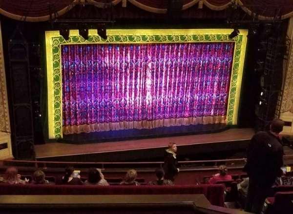 Orpheum Theatre (Minneapolis), secção: Balcony 7, fila: J, lugar: 12