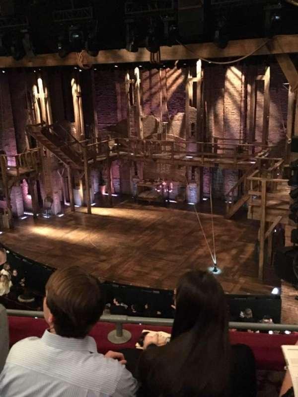 Richard Rodgers Theatre, secção: Front Mezzanine R, fila: C, lugar: 18