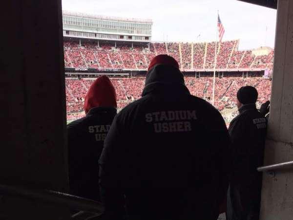 Ohio Stadium, secção: 22B, fila: 2, lugar: 31