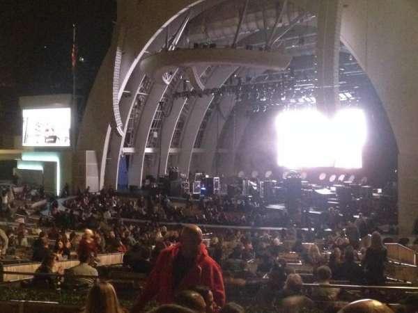 Hollywood Bowl, secção: D, fila: 6, lugar: 26
