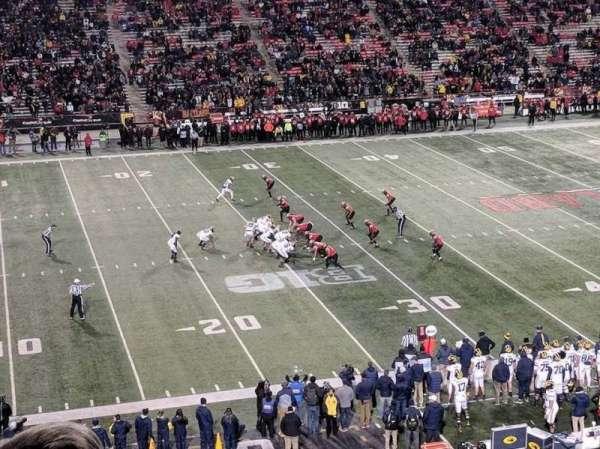 Maryland Stadium, secção: 203, fila: c, lugar: 19