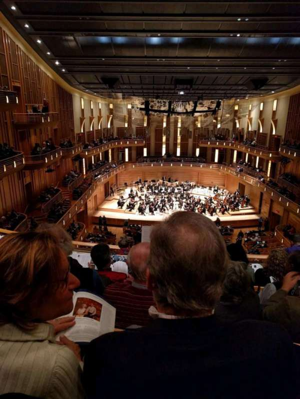 The Music Center at Strathmore, secção: Grand Tier, fila: E, lugar: 119