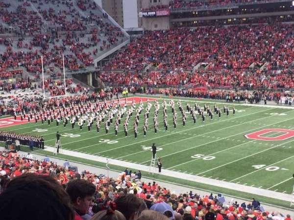Ohio Stadium, secção: 16A, fila: 34, lugar: 20