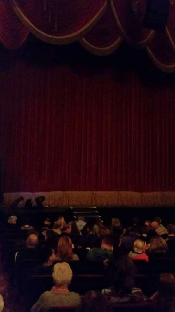 Providence Performing Arts Center, secção: Left Ochestra, fila: N, lugar: 1