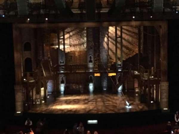 Hollywood Pantages Theatre, secção: Mezzanine C, fila: D, lugar: 107