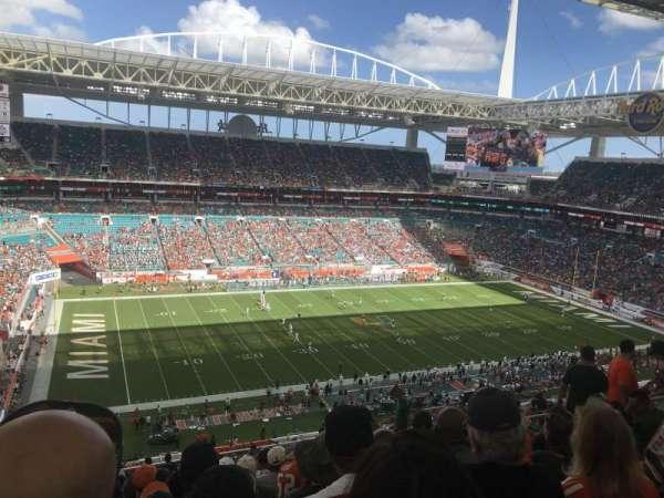 Hard Rock Stadium, secção: 350, fila: 21, lugar: 13