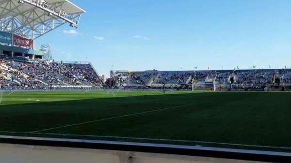 Talen Energy Stadium, secção: F14, fila: 1, lugar: 3