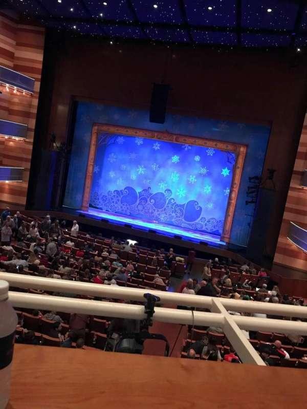 Eccles Theater, secção: ITR, fila: A, lugar: 3