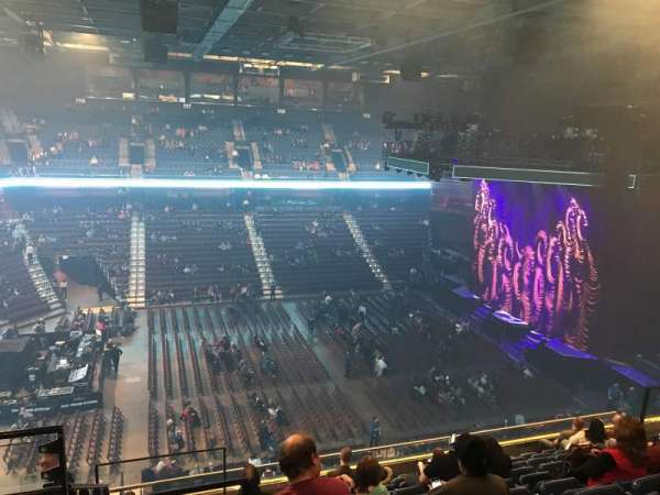 Mohegan Sun Arena, secção: 107, fila: K, lugar: 119