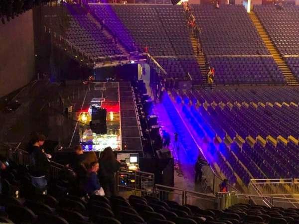 The O2 Arena, secção: 118, fila: ZZ, lugar: 8