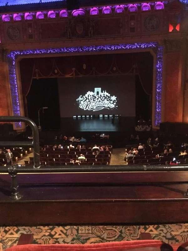 Saenger Theatre (New Orleans), secção: Grand Suite G, fila: B, lugar: 4