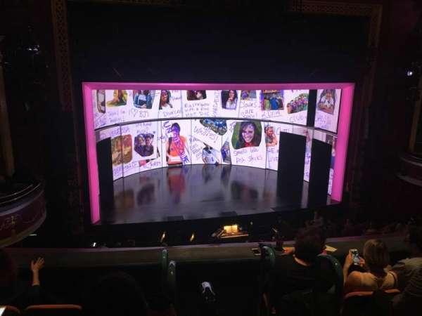 national theatre (dc), secção: Mezzanine Left, fila: D, lugar: 1