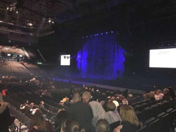 Arena Birmingham, secção: 2 Lower, fila: L, lugar: 61