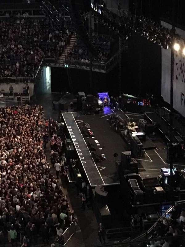 The O2 Arena, secção: 421, fila: C, lugar: 961