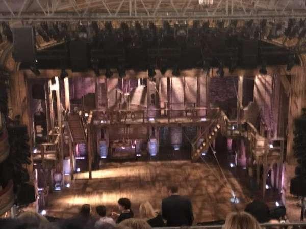 Richard Rodgers Theatre, secção: Front Mezzanine R, fila: F, lugar: 4