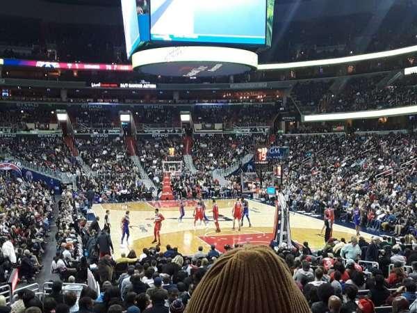 Capital One Arena, secção: 104, fila: P, lugar: 16