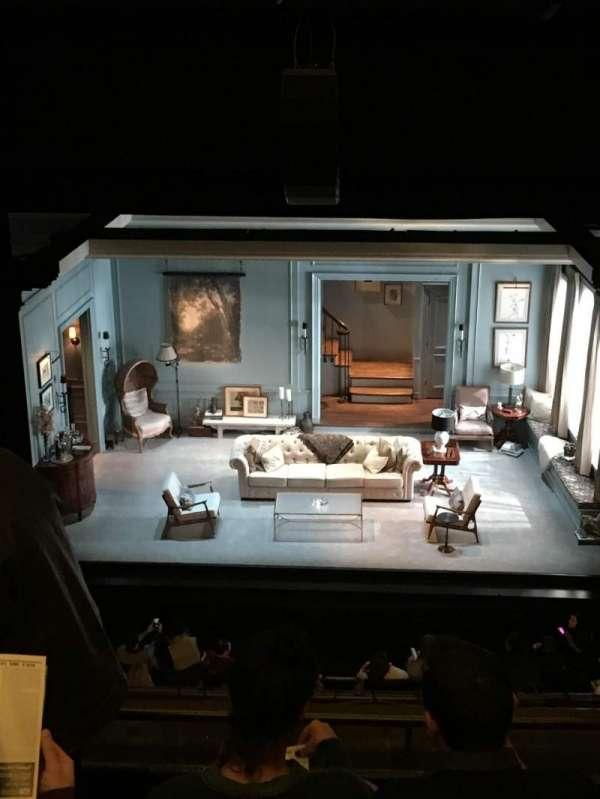 Hudson Theatre, secção: Balcony C, fila: D, lugar: 110
