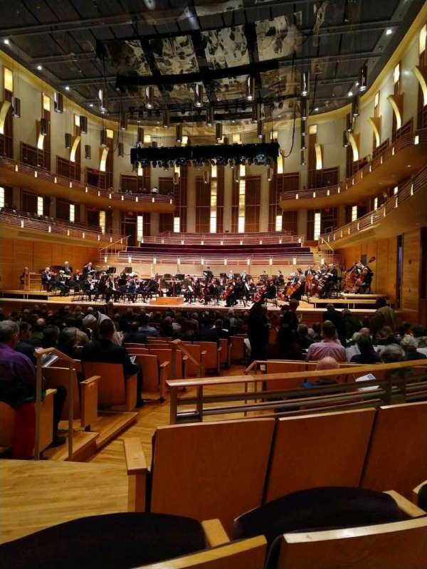 The Music Center at Strathmore, secção: Orchestra Tier Right, fila: CC, lugar: 4