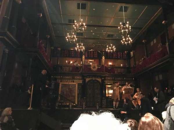 Belasco Theatre, secção: Orchestra C, fila: G, lugar: 104