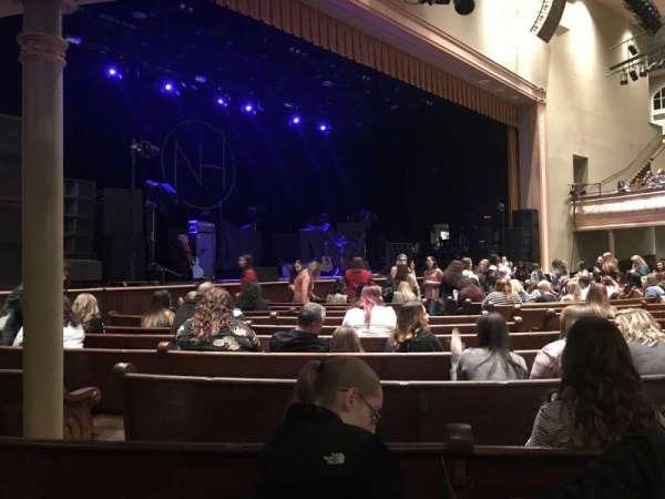 Ryman Auditorium, secção: MF-7, fila: P, lugar: 7