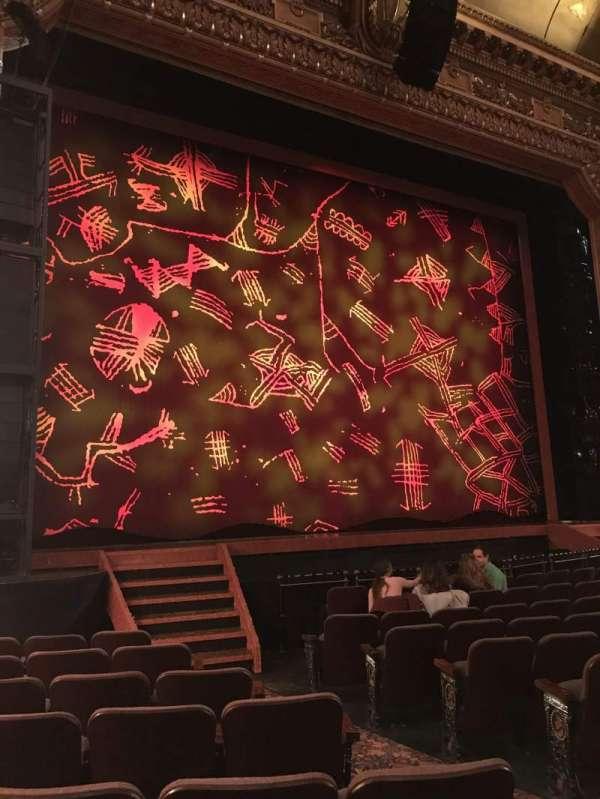 Hippodrome Theatre, secção: Left Orchestra, fila: L, lugar: 7