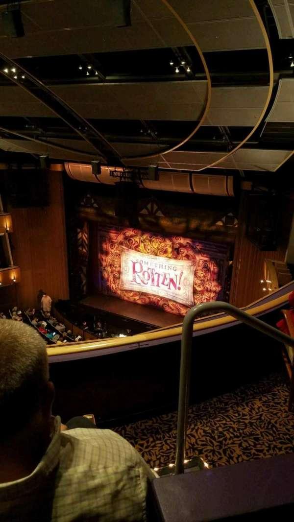 Ahmanson Theatre, secção: Balcony, fila: C, lugar: 2