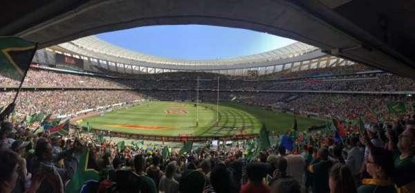 Cape Town Stadium, secção: 109, fila: 29, lugar: 15