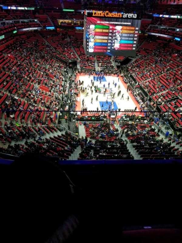 Little Caesars Arena, secção: 220, fila: 2, lugar: 4