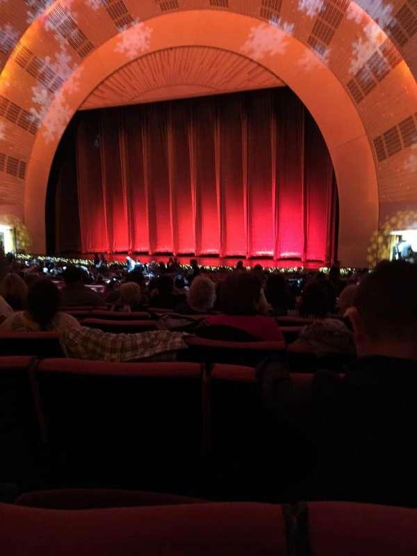 Radio City Music Hall, secção: Orchestra 2, fila: K, lugar: 206