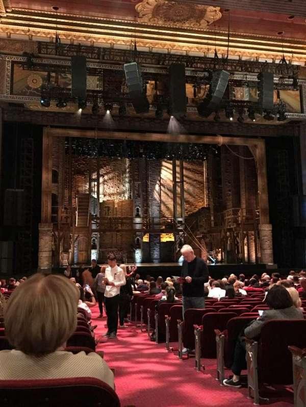 Hollywood Pantages Theatre, secção: Center Left Orcastra, fila: X, lugar: 301