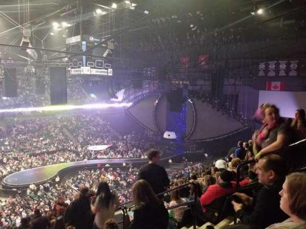 Van Andel Arena, secção: 224, fila: M, lugar: 5