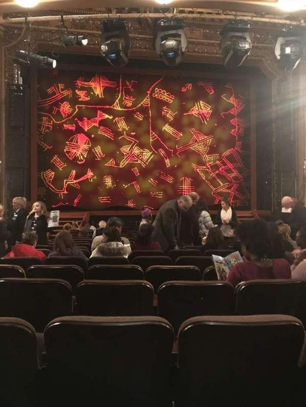 Hippodrome Theatre, secção: Orchestra Center, fila: S, lugar: 103 and 10