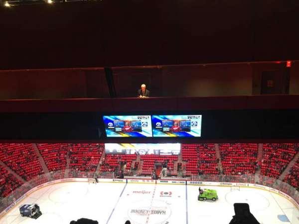 Little Caesars Arena, secção: 211, fila: 12, lugar: 6